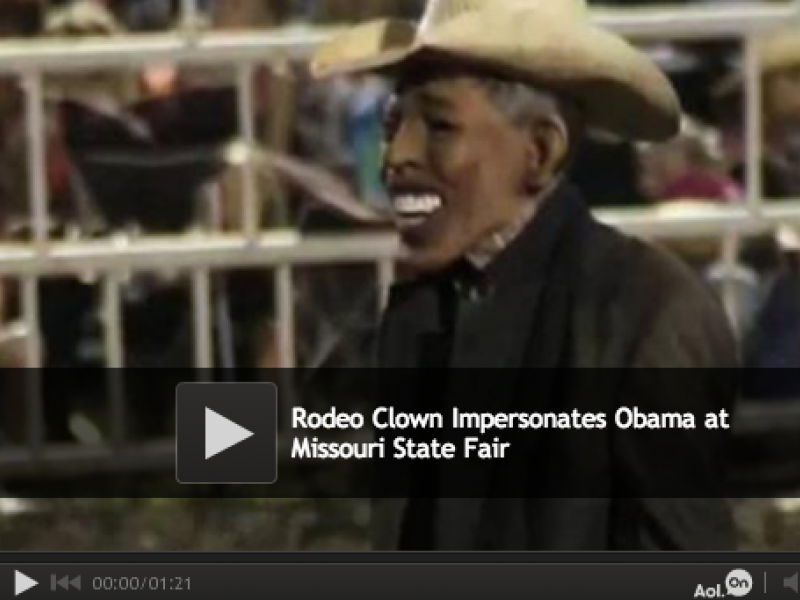 Obama Rodeo Clown Sparks Outrage But Is It Warranted