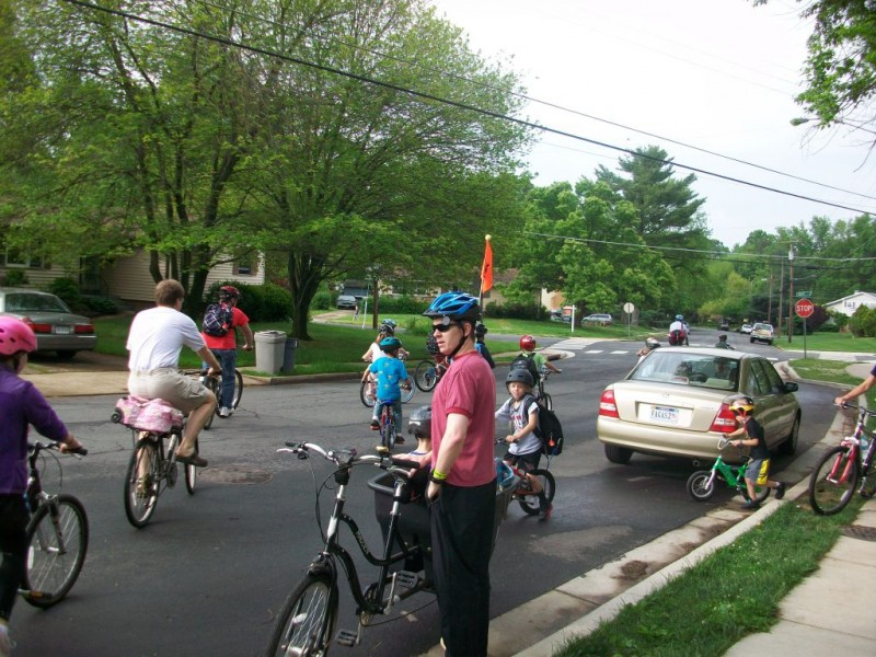 Bikes Of Vienna Va Bike to School Day