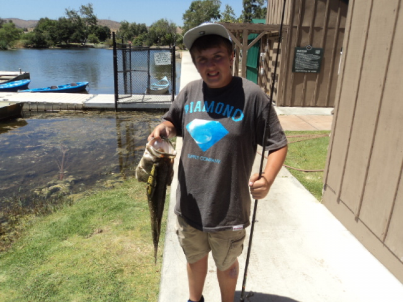 Santee lakes fishing report night fishing and bass going for Santee fishing report