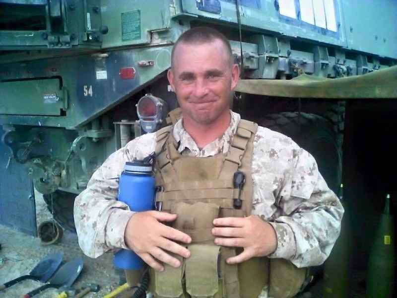 Bike Marine Chicago One of Four Marines Killed in