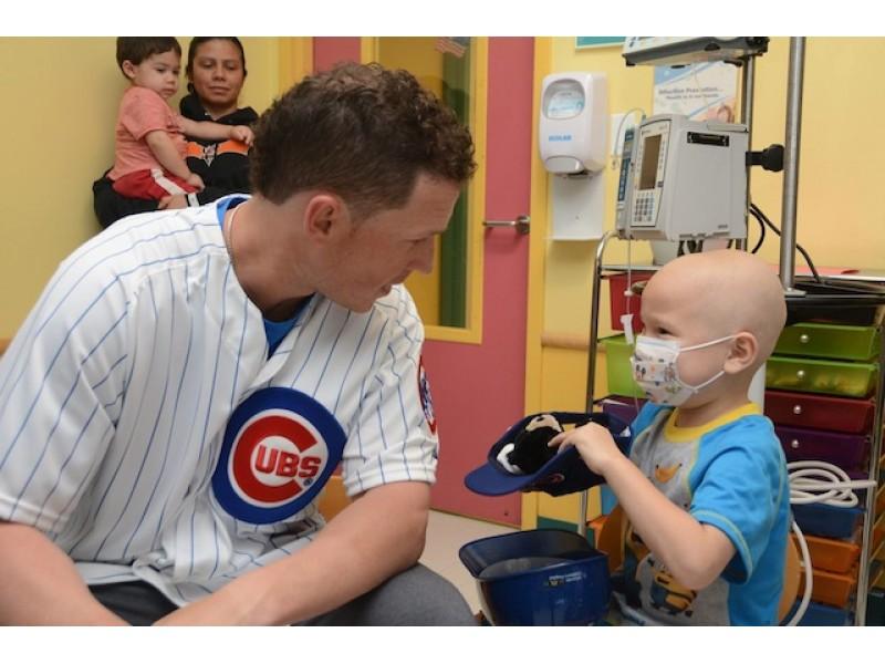 Cubs Coghlan's Visit a Home Run at Advocate Children's | Oak Lawn ...