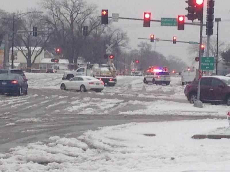 Car Accident Train Park Ridge