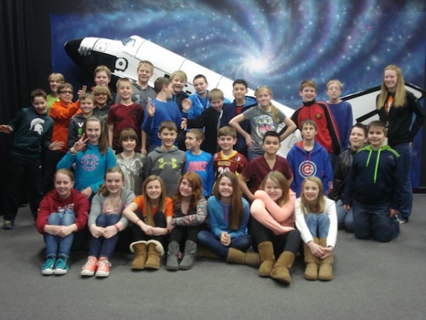 Thompson Honors Math Students Blast Off To Mars