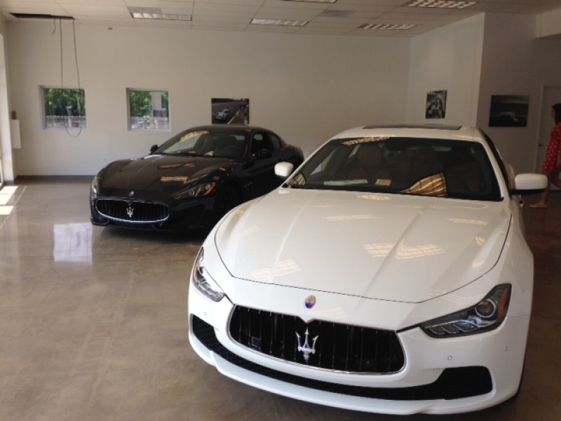 first morris county maserati dealership drives on to route 10 morris township morris plains. Black Bedroom Furniture Sets. Home Design Ideas