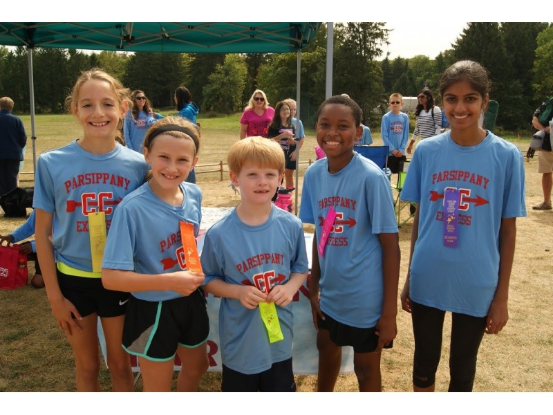 5 Parsippany Runners Take Express Train Past Cross Country Competition Pars
