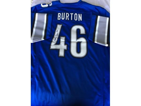 Wholesale NFL Nike Jerseys - Michael Burton Autographed Jerseys, Football Raffle To Benefit ...