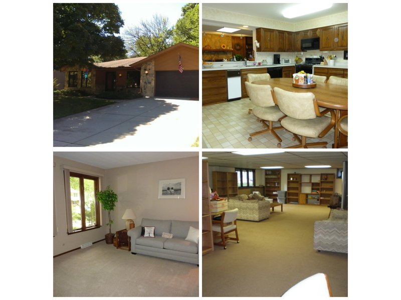 Spacious 4 Bedroom 3 Bath Glen Ellyn Ranch With Full
