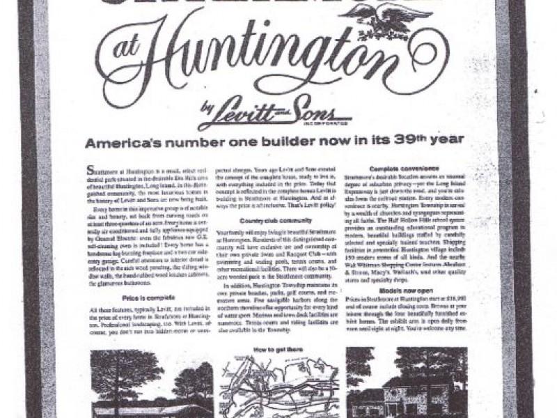 Part 1 Huntington S Very Own Levitt Houses Strathmore At