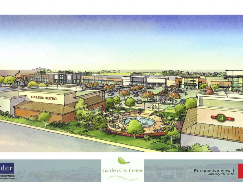 garden city unveils major redevelopment plan video cranston ri patch