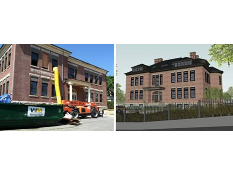 former carey school to be turned into luxury condos newport ri patch. Black Bedroom Furniture Sets. Home Design Ideas