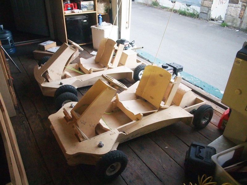 Newport Company Creates Wooden Go-Kart You can Build in One Day - Newport, RI Patch