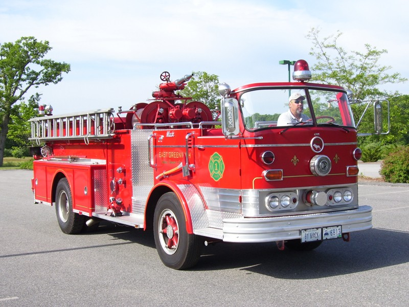 Antique Fire Trucks On Display In Portsmouth Sunday