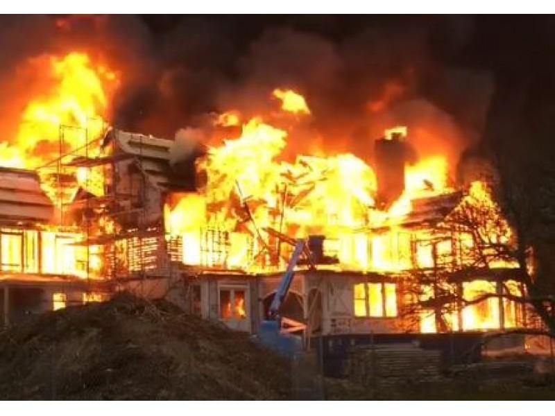 Mansion Fire In Newport Rhode Island