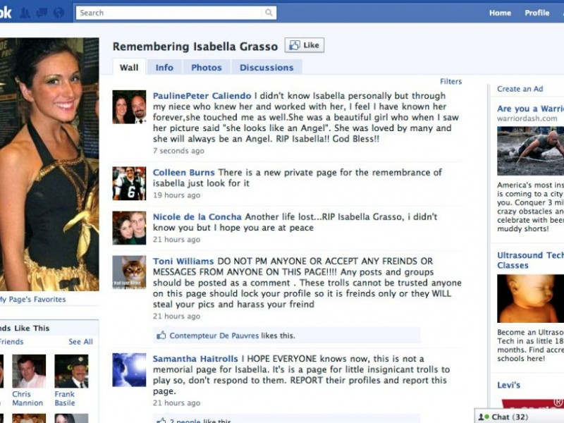 how to create memorial page on facebook