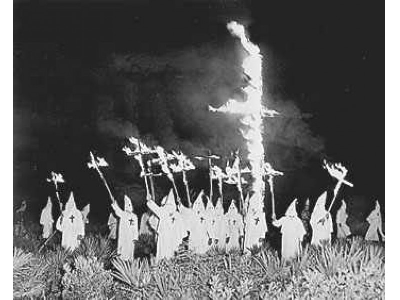 How did the ku klux klan develop?