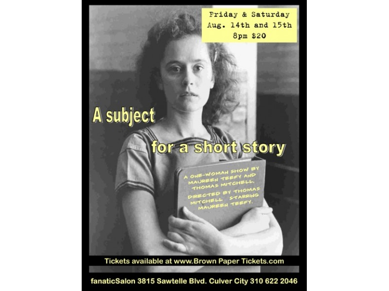 Maureen Teefy - A Subject for a Short Story