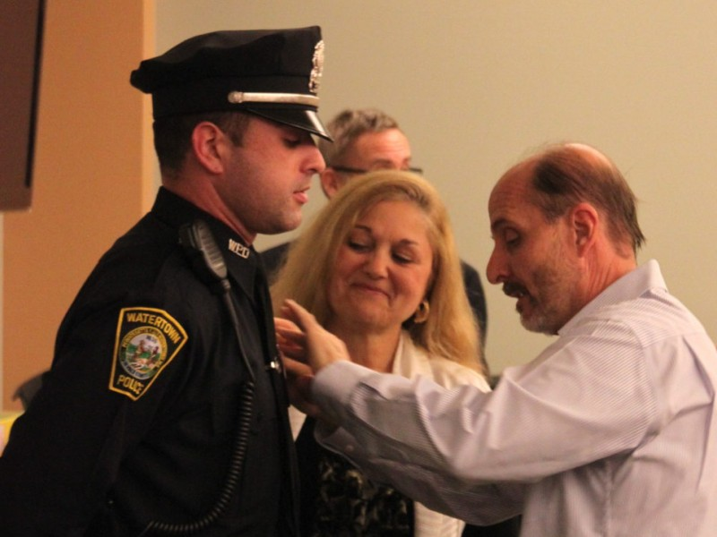 Watertown Police Welcome Three New Officers Watertown Ma