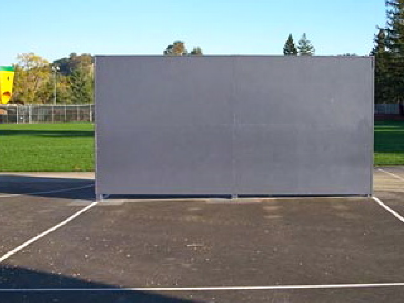 Building A Tennis Practice Wall