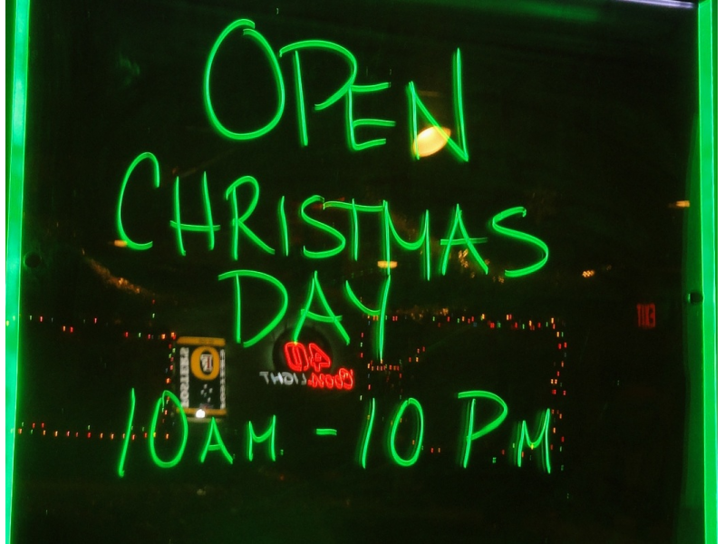 What 39 s open on christmas in salem patch for Are there any restaurants open on christmas day