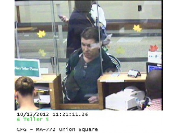 Union Square Bank Robbery Suspect Arrested In New