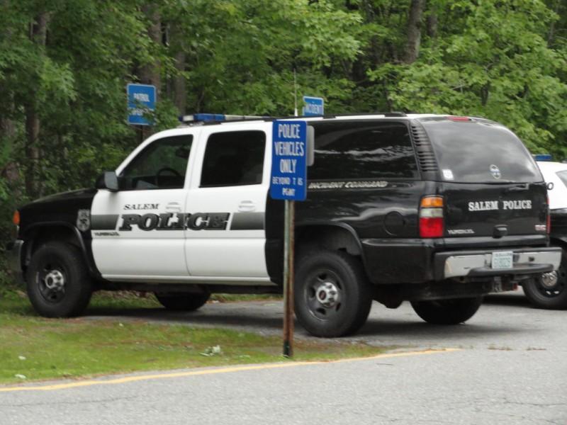 Massachusetts Salem Police Patch by www