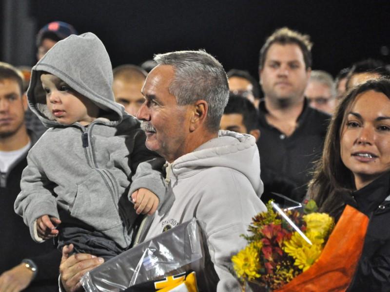 St Anthonys Football Wins Honors Coach Huntington Ny
