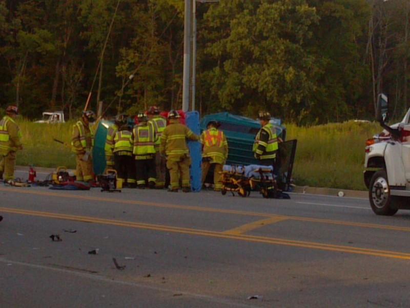 Oswego Car Crash August