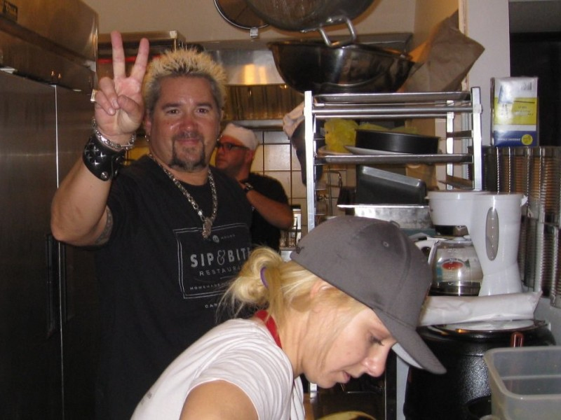 Guy Fieri Stops By Chatham Eatery Chatham Nj Patch