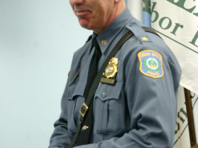Vanderstreet sworn in as chief of police verona nj patch for Uniform verona