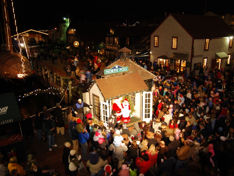 Bowen's Wharf 43rd Annual Christmas Tree Lighting | East ...