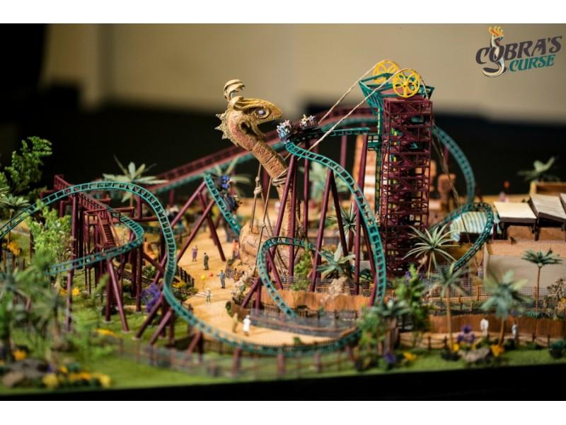 Busch Gardens Shows Off Next New Thrill Ride Patch