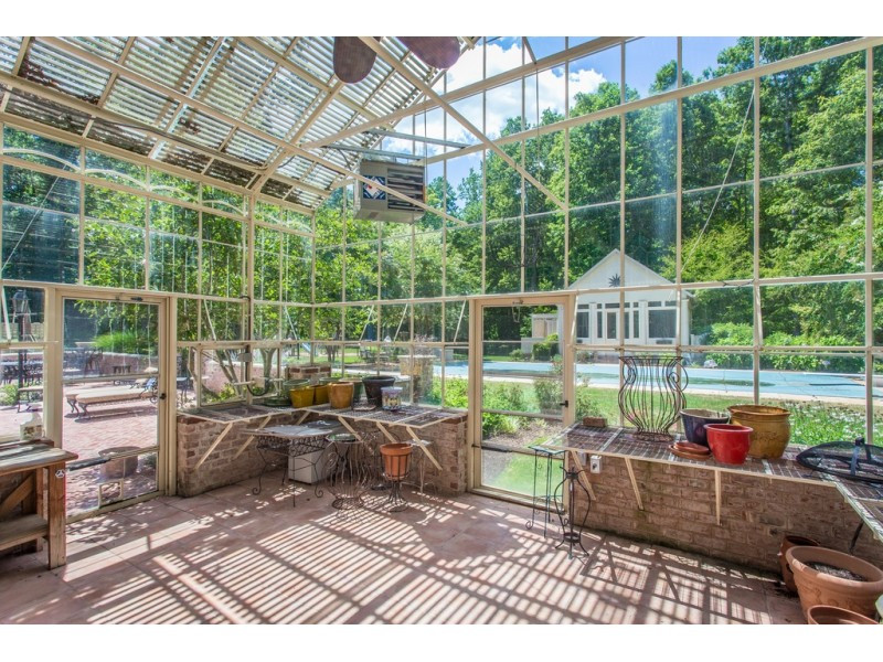 Look inside 1 5m estate w greenhouse heated pool pool for Greenhouse over swimming pool