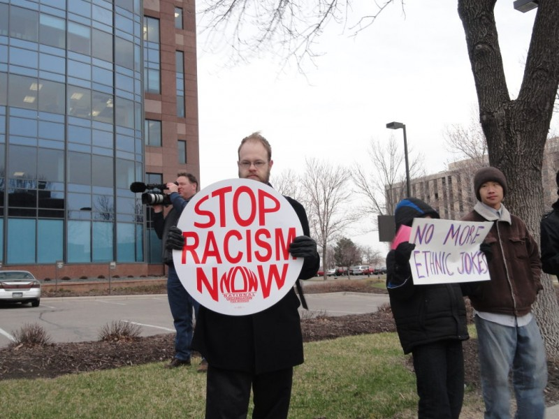VIDEO: Hmong Community Protests, Calls for Change Outside KDWB ...
