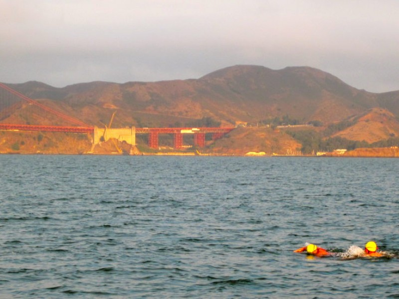 11 Year Old Boy 39 S Birthday Swim Alcatraz To San Francisco