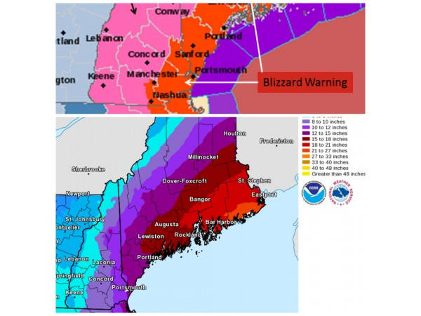 weather alert  hour-by-hour blizzard forecast
