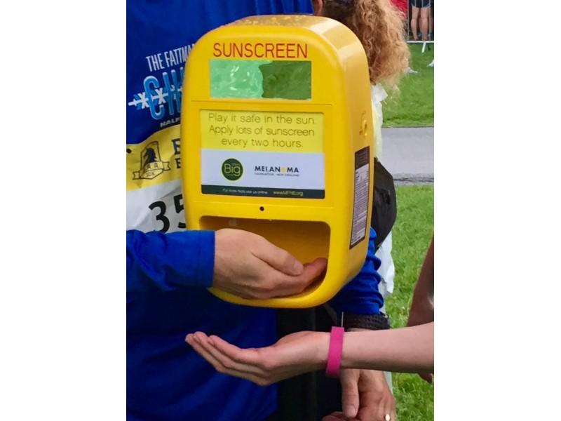 Hampton To Get A Free Sunscreen Dispenser Patch