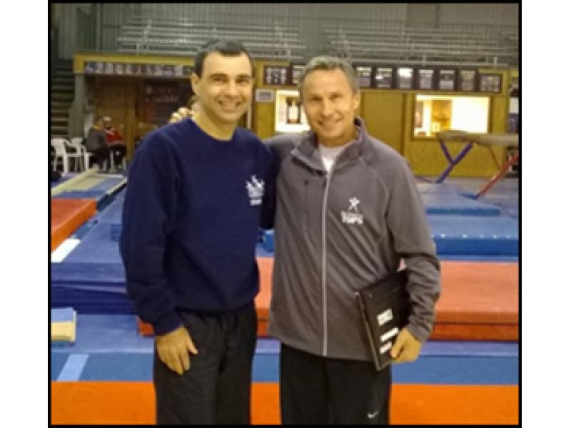 Liukin Coach Coach Valeri Liukin at The