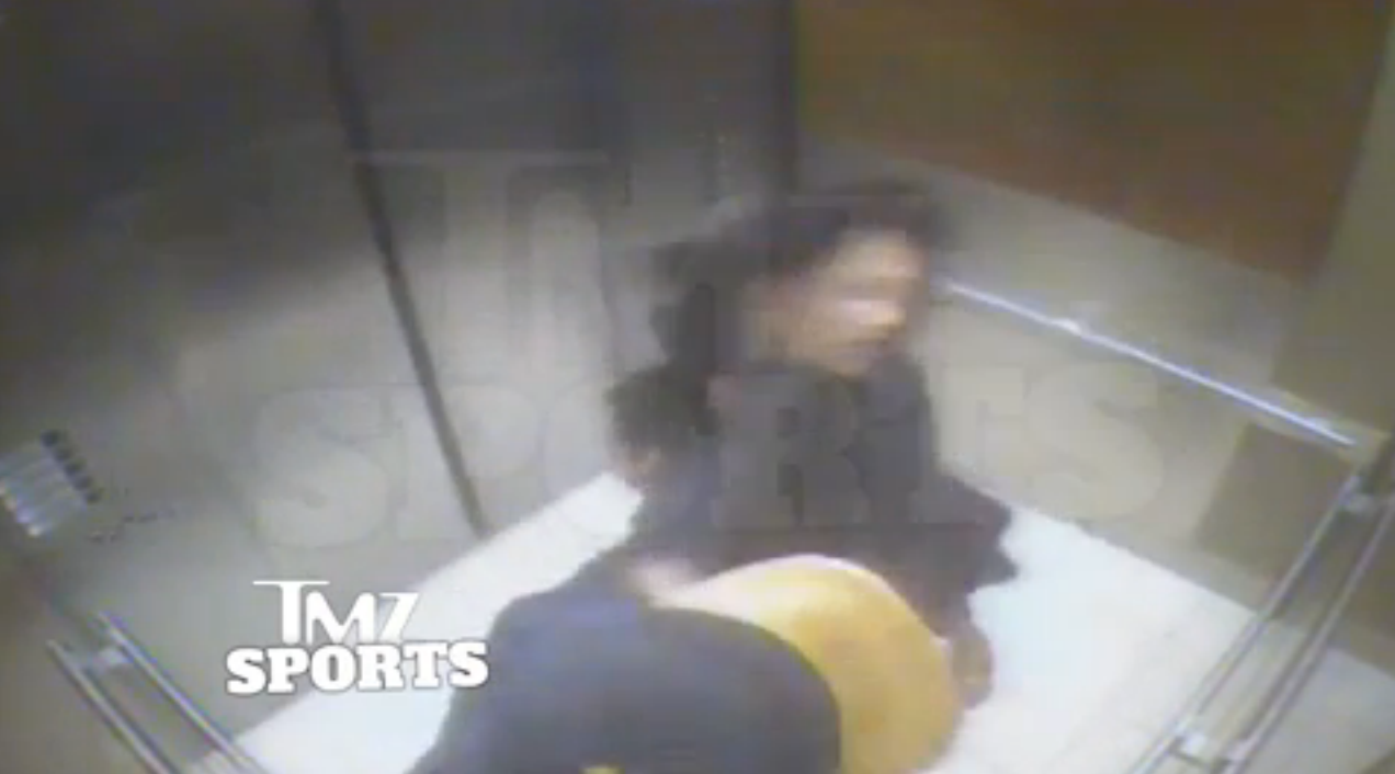 New video of the assault involving ravens running back ray rice