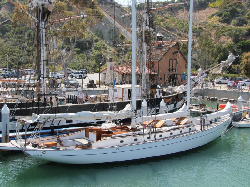 David Crosby S Schooner Arrives At Dana Point Harbor Patch
