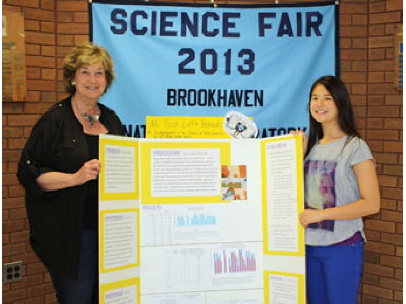 Winning Science Wins Bnl Science Fair