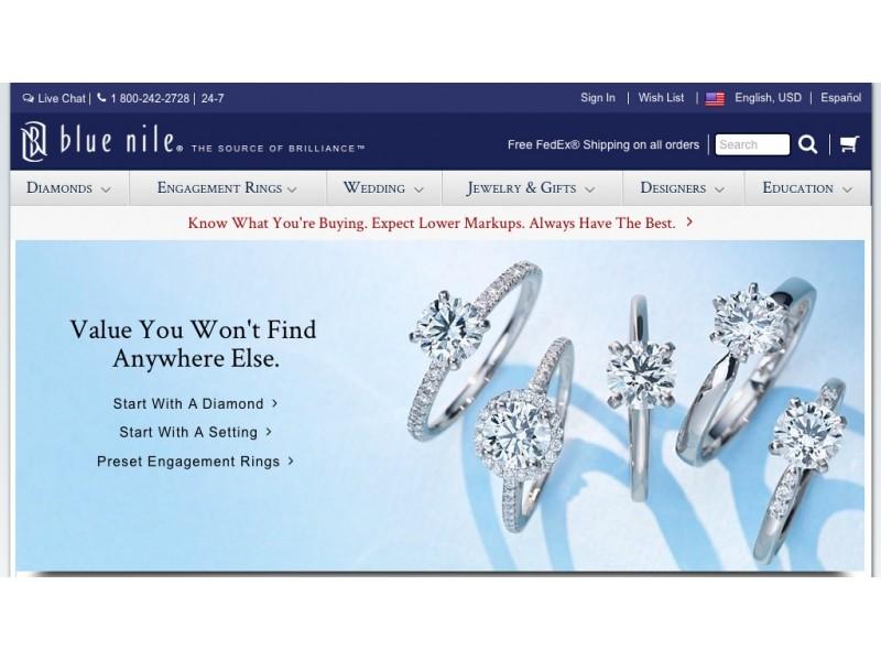 diamonds jewelry retailer to open web store in