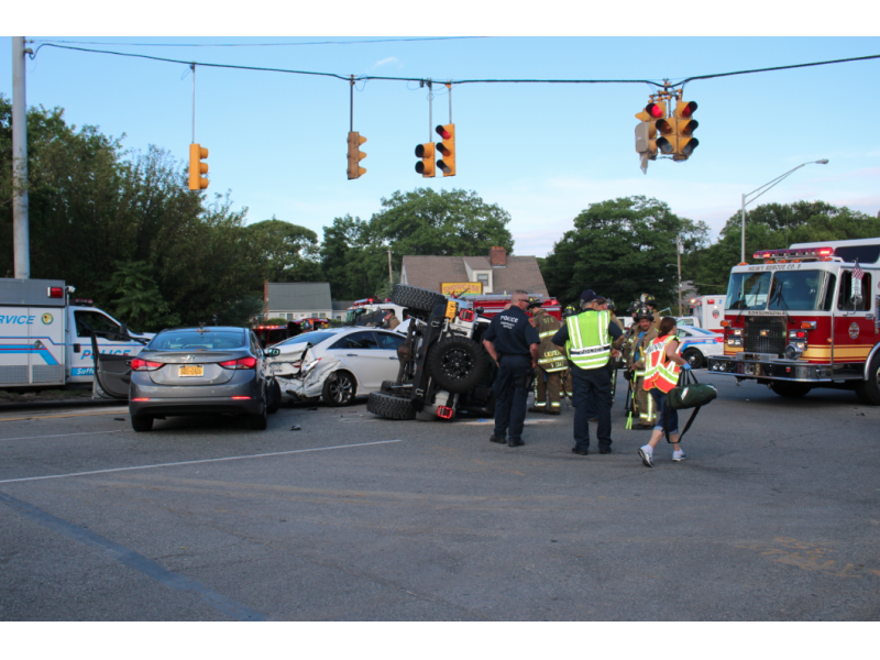 6 Hurt in Holbrook Crash | Patchogue, NY Patch