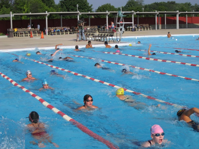 Local Swimmers Pool Money For The Red Cross Wantagh