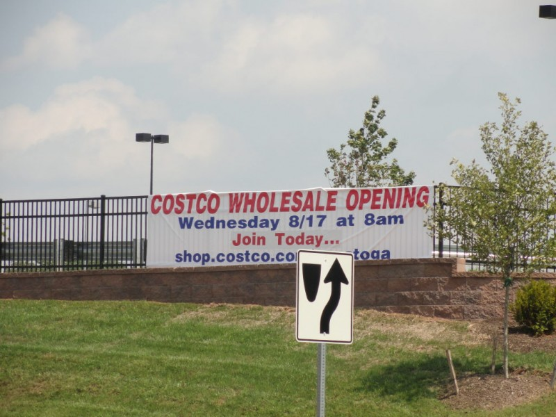 costco grand opening approaching  updated