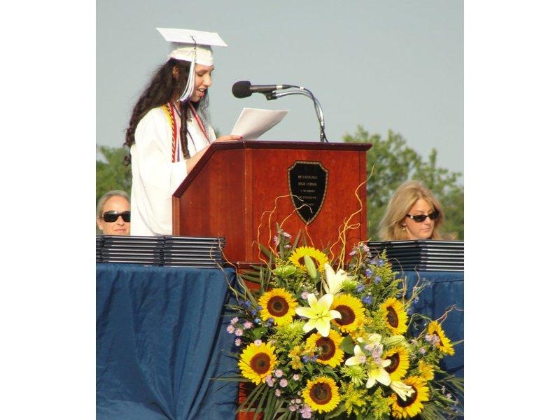 Patch american high school graduation