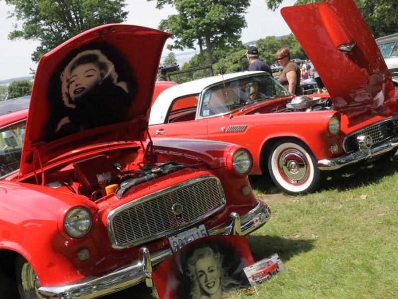 Car Show Bristol Rhode Island