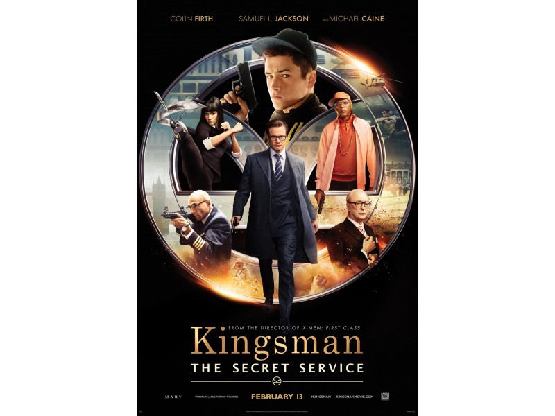 Valentine's At The Movies: Kingsman: The Secret Service & Fifty Shades of Grey