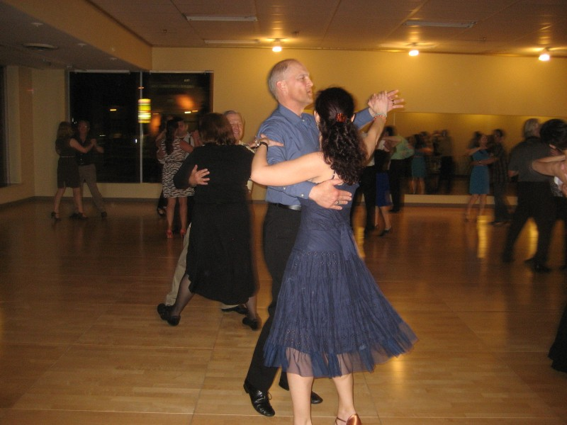 patch.com couple at a social ballroom dance