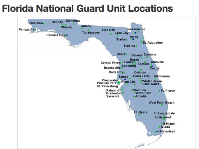 National Guard Unit Patches Florida's National Guard Units