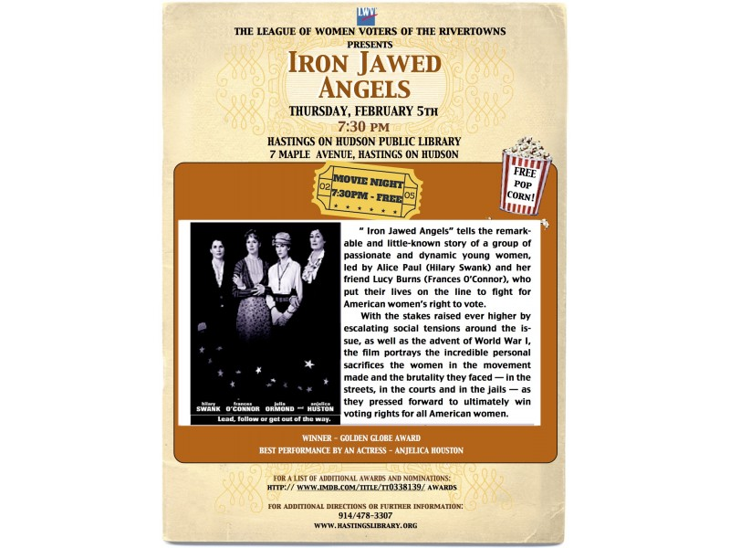 iron jawed angels review